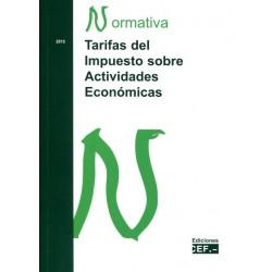 Tarifas del Impuesto sobre Actividades Económicas