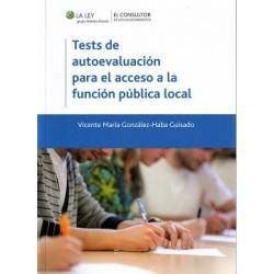 Tests de autoevaluación para el acceso a la función pública local