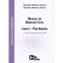 Manual de Derecho Civil. Curso I. Plan Bolonia.