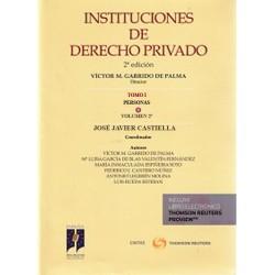 Instituciones de Derecho Privado. Tomo I. Personas. Volumen II