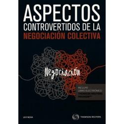 Aspectos controvertidos de negociación colectiva