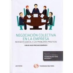 Negociación colectiva en la empresa. Respuesta judicial a los problemas prácticos