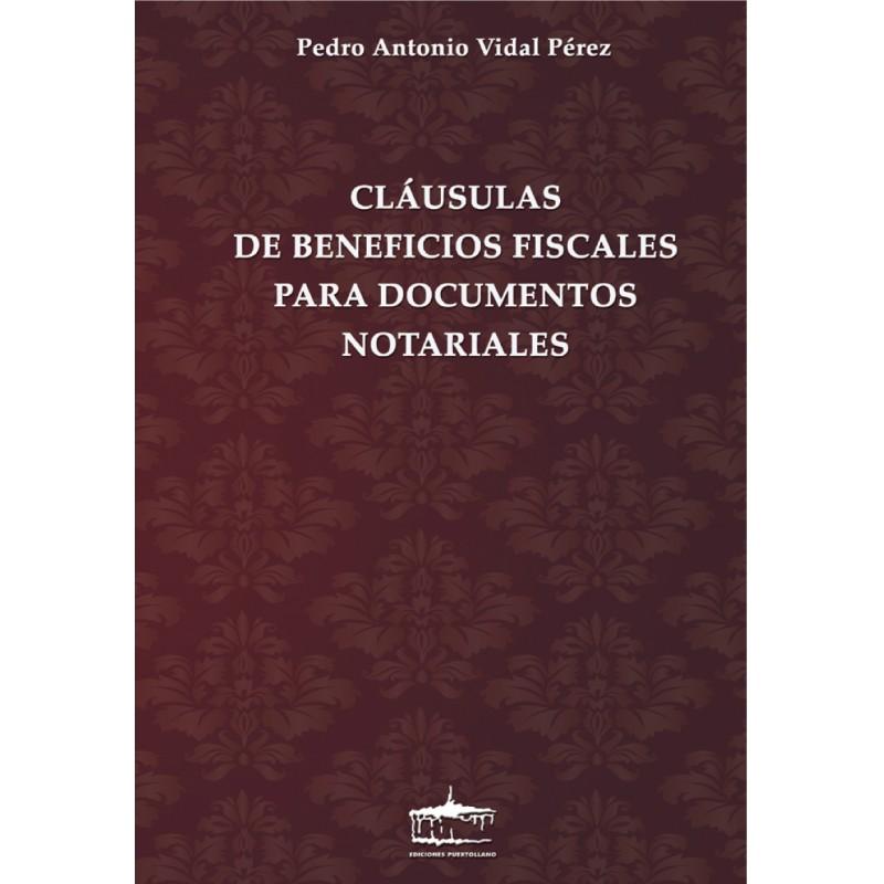 Claúsulas de Beneficios Fiscales para Documentos Notariales