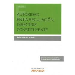 Autoridad en la regulación, directriz constituyente