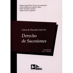 Curso de Derecho Civil V. Derecho de Sucesiones