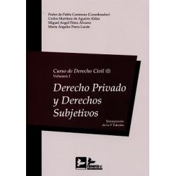 Curso de Derecho Civil I. Volumen I. Derecho privado y derechos subjetivos