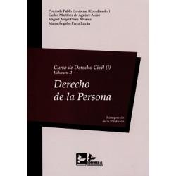 Curso de Derecho Civil I. Volumen II. Derecho de la persona