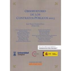 Observatorio de los Contratos Públicos 2015