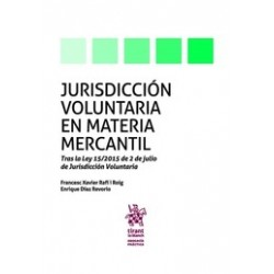 Jurisdicción Voluntaria en Materia Mercantil