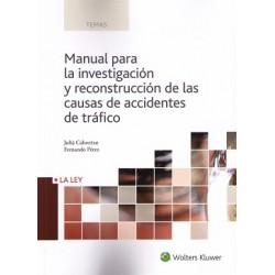 Manual para la investigación y reconstrucción de las causas de accidentes de tráfico