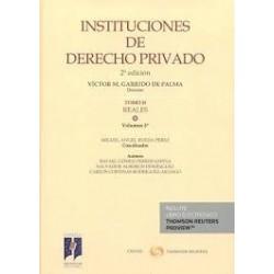 Instituciones de Derecho Privado. Tomo II. Reales. Volumen 3º