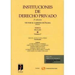 Instituciones de Derecho Privado. Tomo II. Reales. Volumen 2º