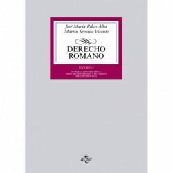 Derecho Romano. Volumen I