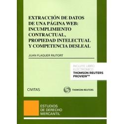 Extracci—n de datos de una p‡gina web. Incumplimiento contractual, propiedad intelectual y competencia desleal