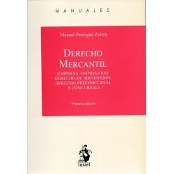 Derecho Mercantil. Empresa. Empresario. Derecho de sociedades. Derecho preconcursal y concursal