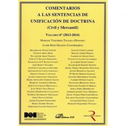 Comentarios a las Sentencias de Unificación de Doctrina. Civil y Mercantil. Volumen 6. 2013-2014