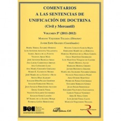 Comentarios a las Sentencias de Unificación de Doctrina. Civil y Mercantil. Volumen 5. 2011-2012