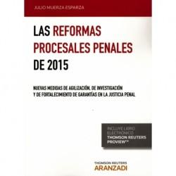 Las Reformas Procesales Penales de 2015