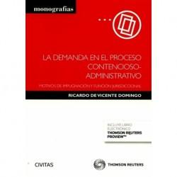 La demanda en el proceso contencioso-administrativo