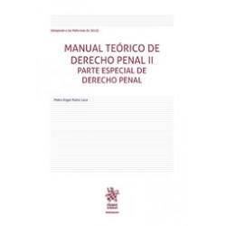 Manual Teórico de Derecho Penal II. Parte Especial de Derecho Penal