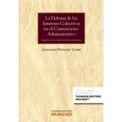 La defensa de los intereses colectivos en el contencioso-administrativo