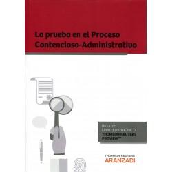 La Prueba en el Proceso Contencioso-Administrativo