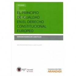 El principio de igualdad en el Derecho Constitucional Europeo