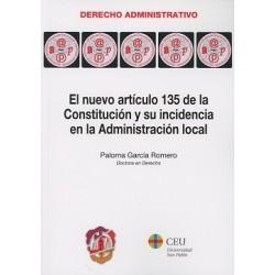 El nuevo artículo 135 de la Constitución y su incidencia en la Administración local