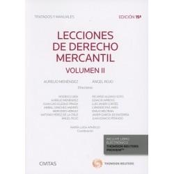 Lecciones de Derecho Mercantil. Volumen II