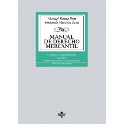 Manual de Derecho Mercantil. Volumen I