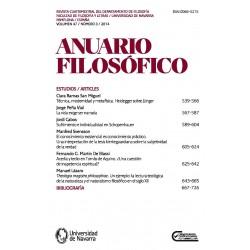 Anuario Filosófico. 50-2