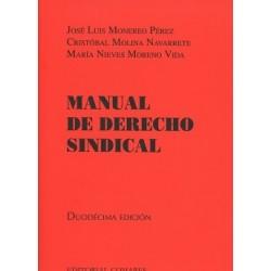 Manual de derecho sindical