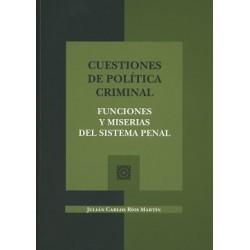 Cuestiones de política criminal
