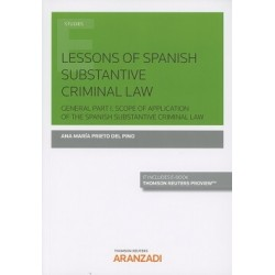 Lessons of spanish substantive criminal law