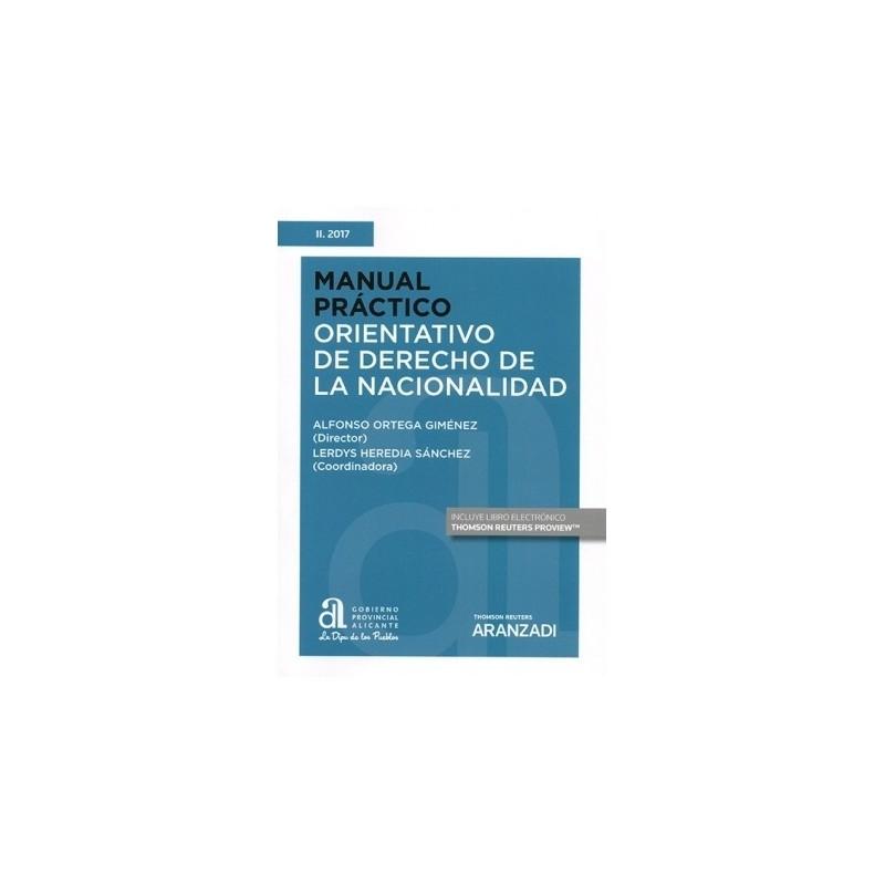 Manual práctico orientativo de derecho de la nacionalidad