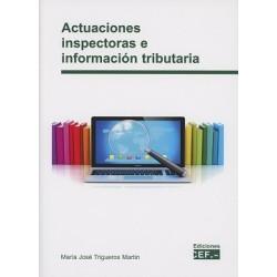 Actuaciones inspectoras e información tributaria