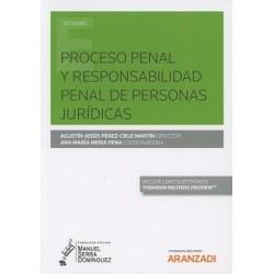 Proceso penal y responsabilidad penal de personas jurídicas