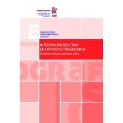 Intervención Delictiva en Contextos Organizados