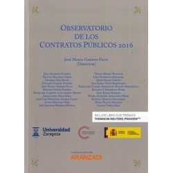 Observatorio de los contratos públicos 2016