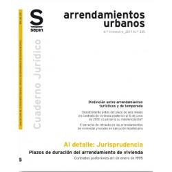 Plazos de duración en arrendamientos de vivienda. Contratos posteriores al 1 de enero de 1995
