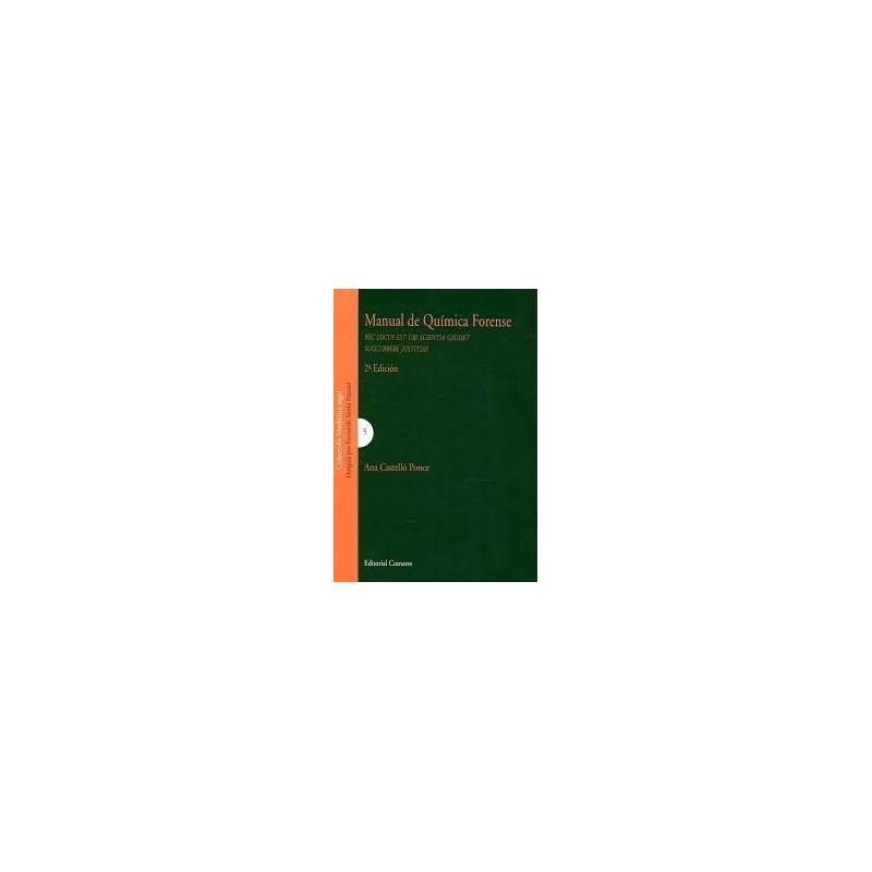 Manual de química forense
