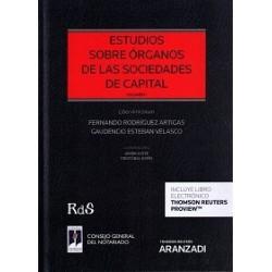 Estudios sobre órganos de las sociedades de capital