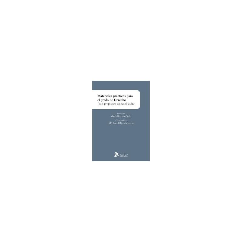 Materiales prácticos para el grado de Derecho