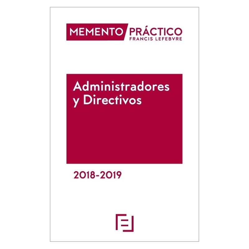 Memento Administradores y Directivos 2018-2019