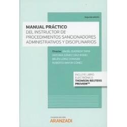 """Manual práctico del instructor de procedimientos sancionadores"""""""