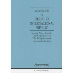 Legislación de Derecho Internacional Privado