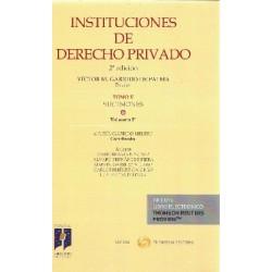 Instituciones de Derecho Privado. Tomo V. Sucesiones. Volumen 3º