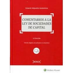 Comentarios a la Ley de Sociedades de Capital