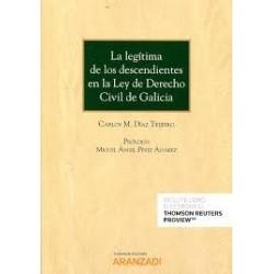 La legítima de los descendientes en la Ley de Derecho Civil de Galicia