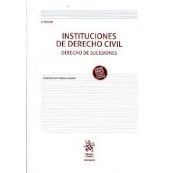 Instituciones de Derecho Civil. Derecho de Sucesiones